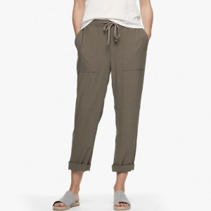 James Perse Double Layer Utility Pant Marjoram, $295