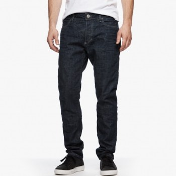 James Perse Oversized Raw Denim, $325
