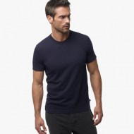 James Perse Short Sleeve Crew Neck Deep, $60