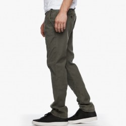 James Perse Slim Stretch Chino Trooper Pigment Side, $245