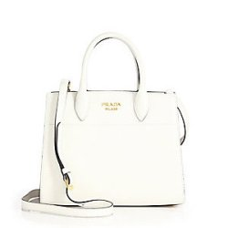 Prada Triad City Leather Tote, $3,580