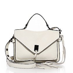 Rebecca Minkoff Darren Small Pebbled Leather Messenger Bag, $295