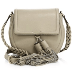 Rebecca Minkoff Isobel Leather Saddle Bag, $295