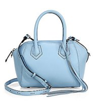 Rebecca Minkoff Micro Perry Leather Satchel Sky, $295