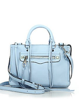 Rebecca Minkoff Micro Regan Leather Satchel, $225
