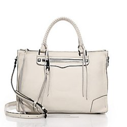 Rebecca Minkoff Regan Leather Satchel, $325