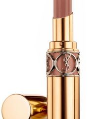 YSL Rouge Volupte Shine 23 Rose in Wood, $37