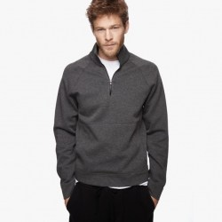 Yosemite Jersey Jacket Heather Charcoal, $295