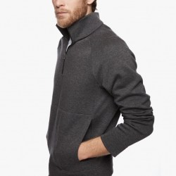 Yosemite Jersey Jacket Side Heather Charcoal, $295