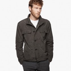 Yosemite Water Repellent Field Jacket Granite, $475