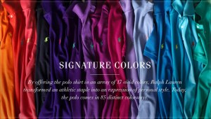 The Iconic Polo Shirt Signature Colors
