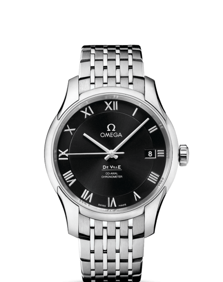 Omega DeVille Annual Calendar Black Watch $5,875 from $10,400