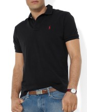Ralph Lauren Polo Classic Fit Mesh Black, $85