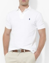 Ralph Lauren Polo Classic Fit Mesh White, $85