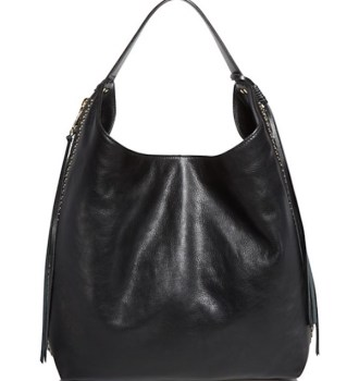 Rebecca Minkoff Bryn Double Zip Hobo Black, $425