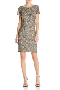 Adrianna Papell Sequined Sheath Dress, $298
