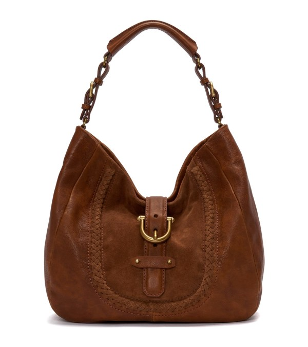 ETIENNE AIGNER Friends Family Leeds Hobo Saddle, $395