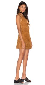 Capulet Roxy Tie Front Mini Dress $279