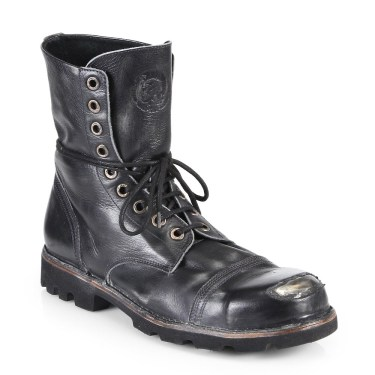 Diesel Hardkor Steel Lace-Up Boots $395