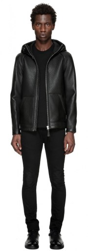 Mackage Camilo Pebble Leather Jacket, $950