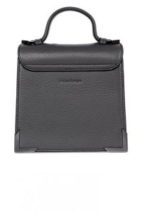 Mackage Rubie Structured Shoulder Bag Slate $375