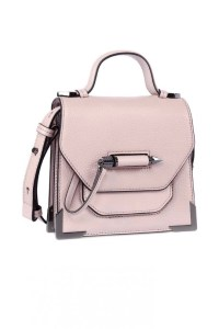 Mackage Rubie Structured Shoulder Bag Blush $375