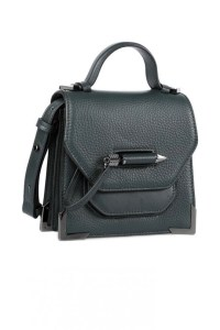 Mackage Rubie Structured Shoulder Bag Pine $375