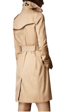 Burberry Kensington Long Heritage Trench Coat $1,895