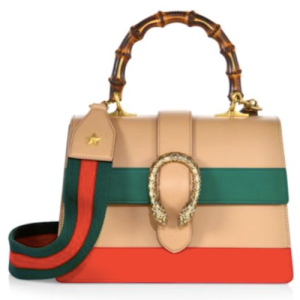 Gucci Dionysus Top Handle Bag Camel, $2,980
