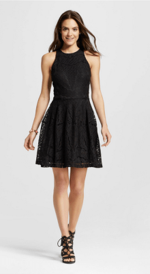 Mossimo Lace Fit and Flare Dress $29.99