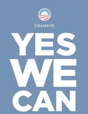 Obama Yes We Can