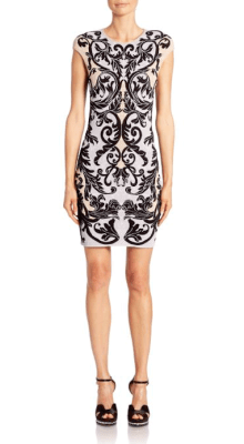 Alexnder McQueen Caravan Jacquard Knit Dress $1,435