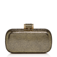 Halston Heritage Curved Minaudiere Gold $295