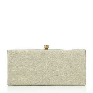Jimmy Choo Celeste Lame Glitter Clutch $995
