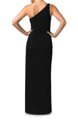 Laundry by Shelli Segal One-Shoulder Matte Jersey Dress $270