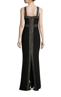 Parker Black Mila Halter Dress Back $528