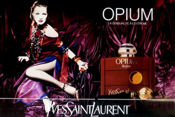 Opium Yves Saint Laurent Controversial Kate Moss