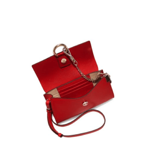 Chloe Mini Faye Leather & Suede Shoulder Bag Open $795