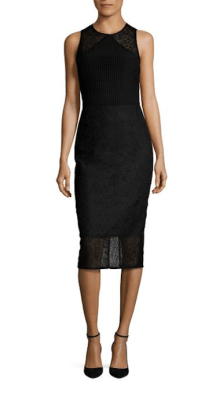 Diane Von Furstenberg Tailored Twig Lace Dress $368