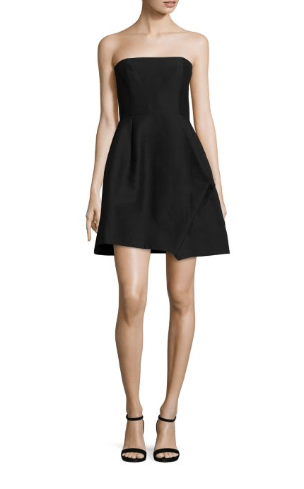 Dresses Evolve Stay the Same Halston Heritage Strapless Faille Dress $1,395