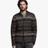 James Perse Tweed Knit Sweater $525