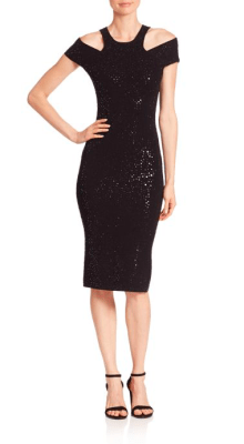 Michael Kors Collection Paillette Racer Sheath Dress $1,895