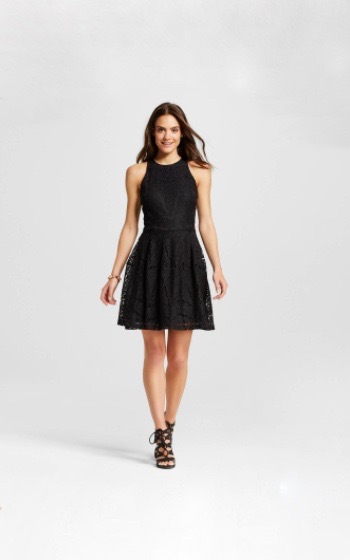 Dresses Evolve Stay the Same Mossimo Lace Fit & Flare Dress $29.99