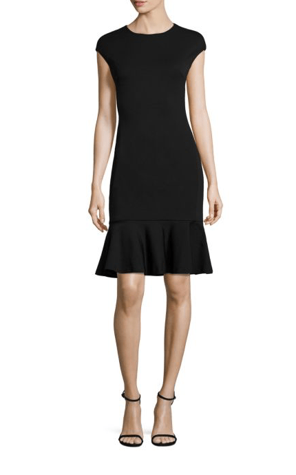 Dresses Evolve Stay the Same POLO Ralph Lauren Ruffle Hem Ponte Dress, $298