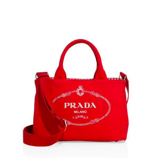 PRADA Handbags New Introductions Canapa Canvas Tote