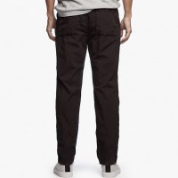 James Perse Stretch Poplin Utility Pant Squid Pigment Back $245