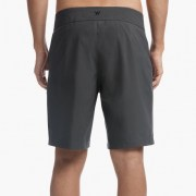 James Perse Scuba Zip Boardshort Back Slate $225