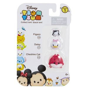 Disney Tsum Tsum Series 2, Figaro Daisy Cheshire Cat 3-Pack $6.99