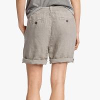 James Perse Linen Surplus Short Back Solitaire Pigment $165