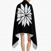 James Perse Lotus Beach Towel Back $250